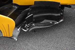 Formula 1 Analisi Renault: ci sono due boomerang davanti al bargeboard!