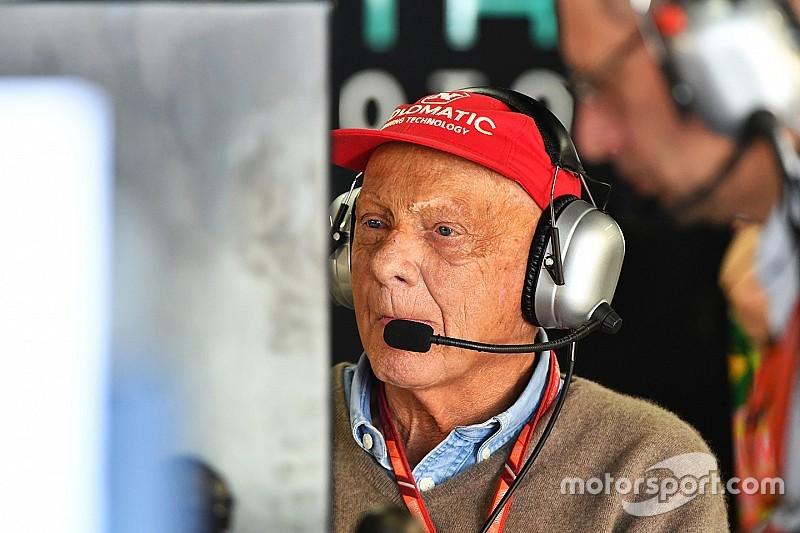 Hamilton über Niki Lauda: Hat sehr viel Gewicht verloren
