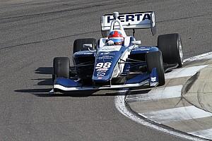 Indy Lights Gara Colton Herta centra il successo nonostante il caos della prima curva