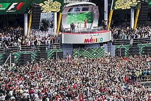 Fórmula 1 Noticias El GP de México el mejor evento de F1 por tercer año consecutivo