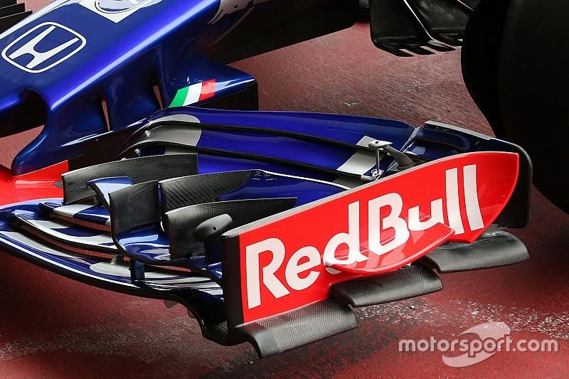 Toro Rosso a un aileron avant inédit en Autriche