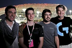 アロンソ、eSportチームを設立。「ファンとレースする場を提供したい」