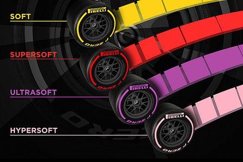 Formel-1-Reifen 2018: Pirelli führt zwei neue Mischungen ein