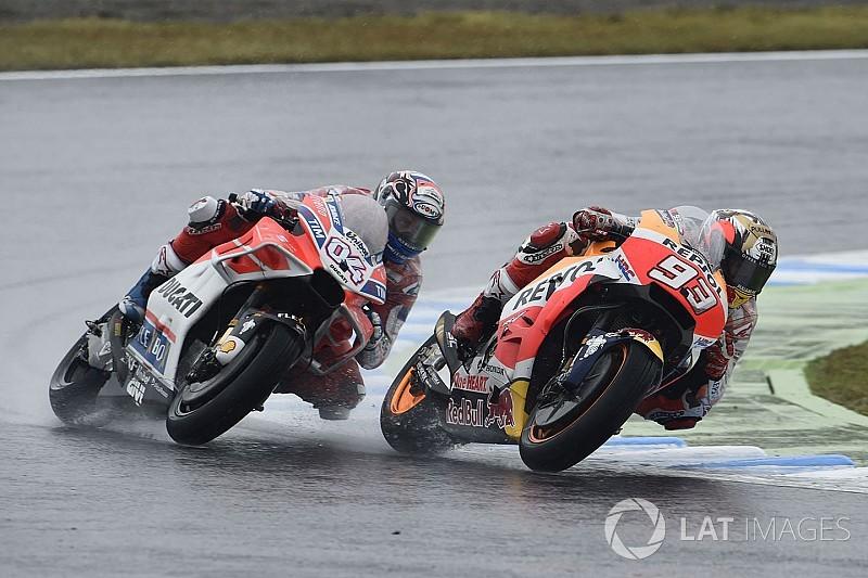 MotoGP-Duell bis zur letzten Kurve: Dovizioso und Marquez schwärmen