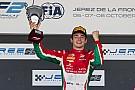 FIA F2 Leclerc se consagró campeón tras un ajustado triunfo en Jerez