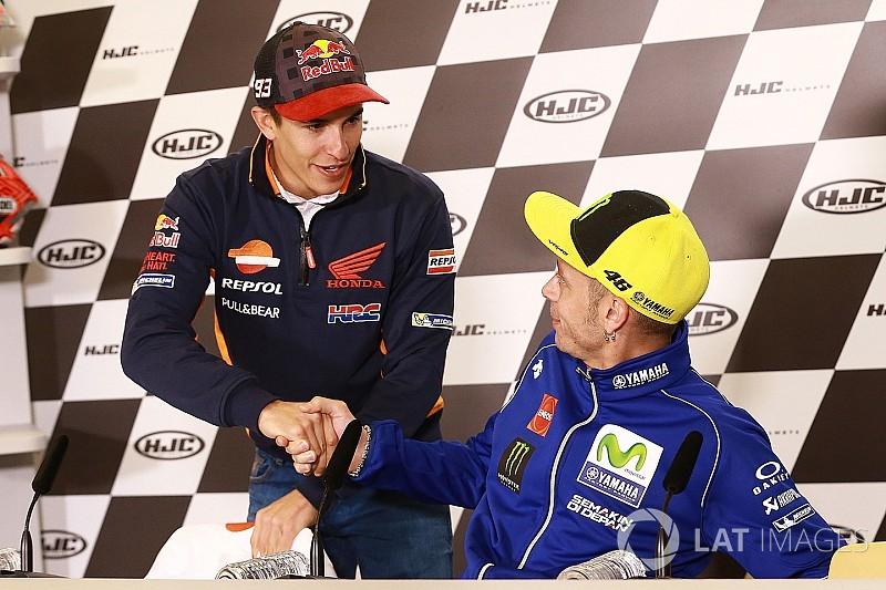 Marquez punge Rossi: