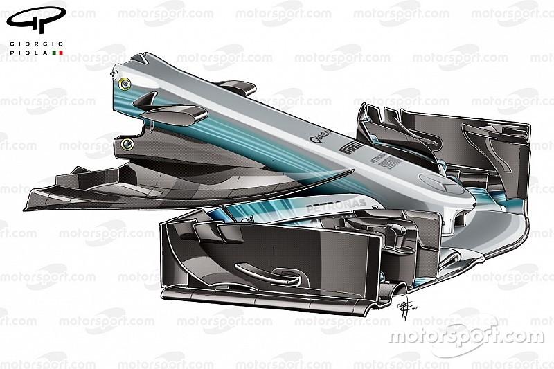 Vídeo análisis: Cómo revisó Mercedes su F1 2017
