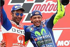 MotoGP Важливі новини Петруччі: Россі зарано залишати MotoGP