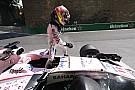 EL1 - Doublé Red Bull, Pérez dans le mur