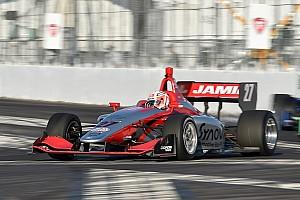 Indy Lights Gara Jamin regola Kaiser e coglie il primo successo in Gara 1 a Barber