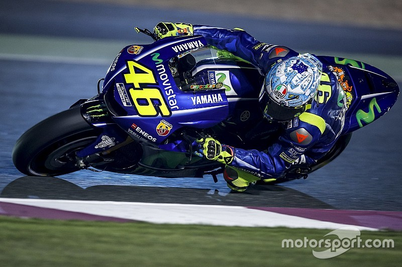 "MotoGP 2017: Valentino Rossi ""worried"" by lack of pace"