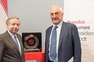 Formula 1 Ultime notizie Jean Todt ha visitato la sede della Brembo a Curno