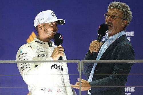 "F1: Jordan diz que já teria mostrado ""porta da rua"" a Hamilton se fosse da Mercedes"