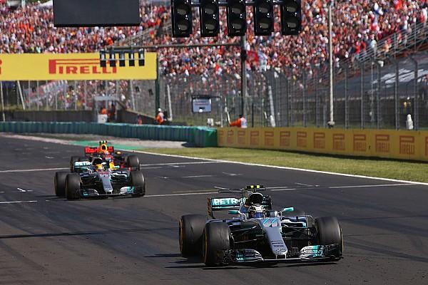 Horner, sorprendido por la acción de Hamilton con Bottas