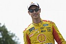 Logano on fatherhood: