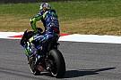 """Rossi: """"Tanto dolor en el brazo no me lo esperaba"""""""