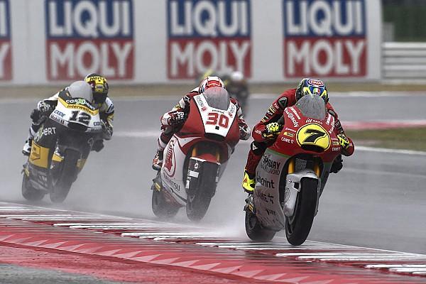 Moto2 Regen und Rennpech setzen Forward Racing in Misano k.o.