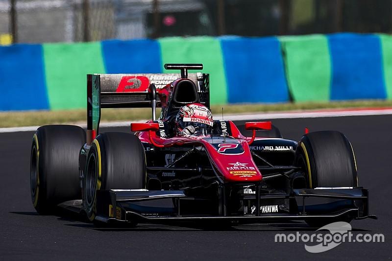 فورمولا 2: ماتسوشيتا يقتنص المركز الأول للسباق الثاني في المجر
