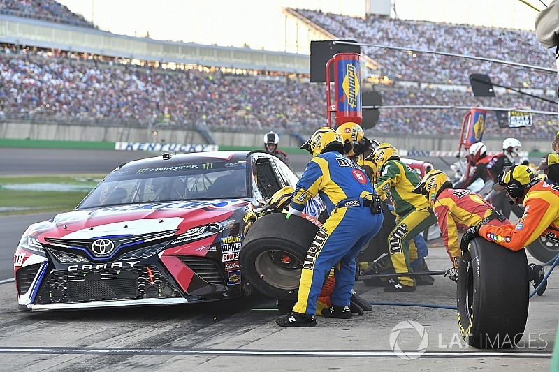 Why a fuel-only pit stop could decide the Cup race at Kentucky