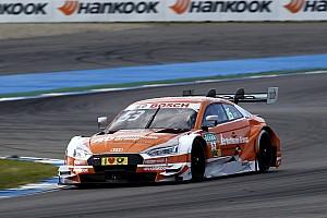 DTM Отчет о гонке Грин выиграл дождевую гонку DTM в Хоккенхайме