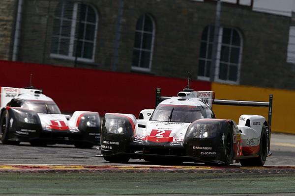 Porsche: Lastik aşınması nedeniyle Toyota Spa'da avantaj kazandı