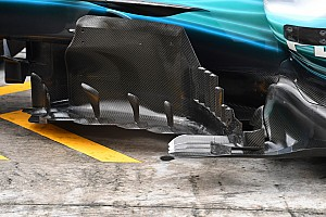Formel 1 Fotostrecke Formel-1-Technik im Detail: Mercedes F1 W08 in Sepang