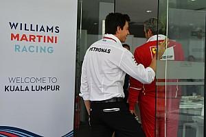 Wolff, Mercedes'in 'şanslı' olduğunu kabul ediyor
