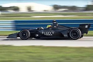 IndyCar Новость Тесты новых машин IndyCar на «Себринге»: видео