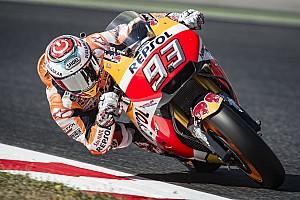 MotoGP Testing report Marquez leads post-race test at Barcelona