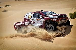 كروس كاونتري تقرير القسم رالي أبوظبي الصحراوي: الصدارة للعطية في السيارات وبرايس في الدراجات
