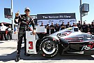"""""""Code brown"""" lap earns Castroneves pole at Phoenix"""