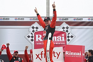 Christopher Bell dominates on way to Atlanta Xfinity win
