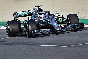 Hamilton's warning shot amid Mercedes' quiet start
