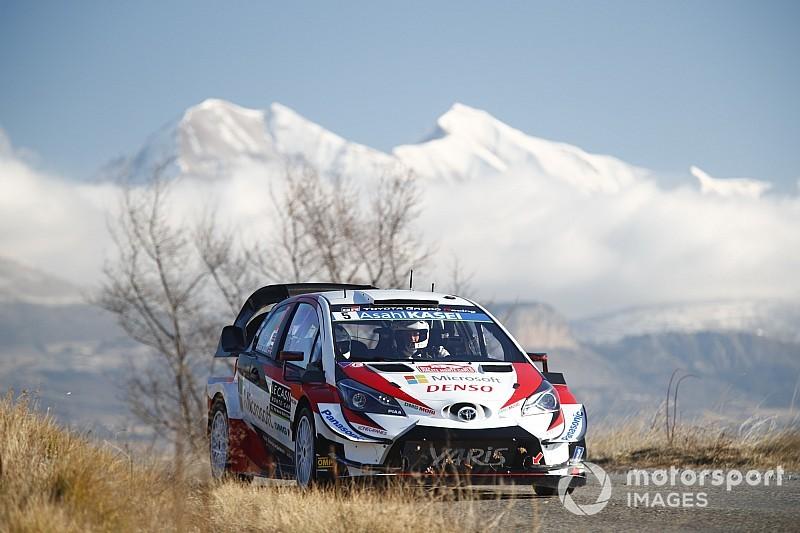Monte-Carlo, Shakedown: Toyota in vetta con Meeke. Bene le Citroen con Ogier e Lappi