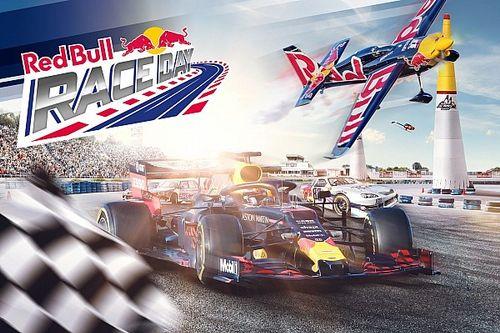 Le Red Bull RACE DAY prêt à faire le spectacle dans les airs et au sol