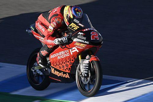 Moto3 Fransa 2. antrenman: Rodrigo lider, Deniz beşinci oldu