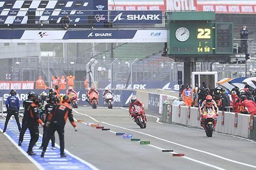 Por qué la controversia alrededor de las carreras 'flag to flag' es un debate inútil en MotoGP