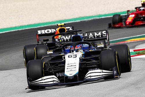 Russell: Williams best its ever felt in a race in Spain