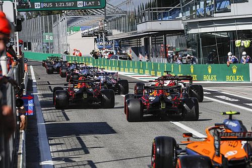 What do DRS, black and white flag, marbles and more mean? F1 terms explained