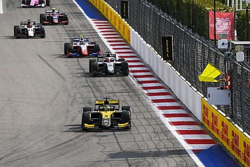 فورمولا 2: زهو يرث الفوز في روسيا مستفيدًا من عدم استئناف السباق إثر حادثة غيوتو وأيتكن