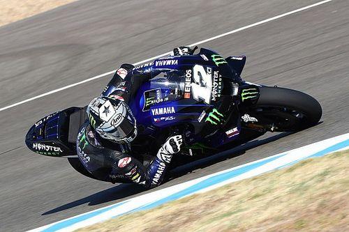 Viñales klokt snelste tijd tijdens middagsessie Jerez-test