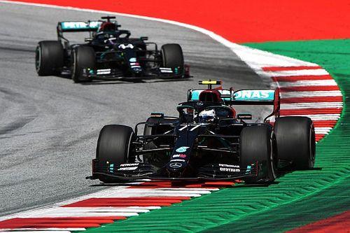 На обоих Mercedes в гонке возникли непонятные неполадки КПП
