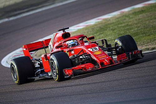 Foto's: Alesi junior legt eerste F1-meters af met Ferrari SF71H