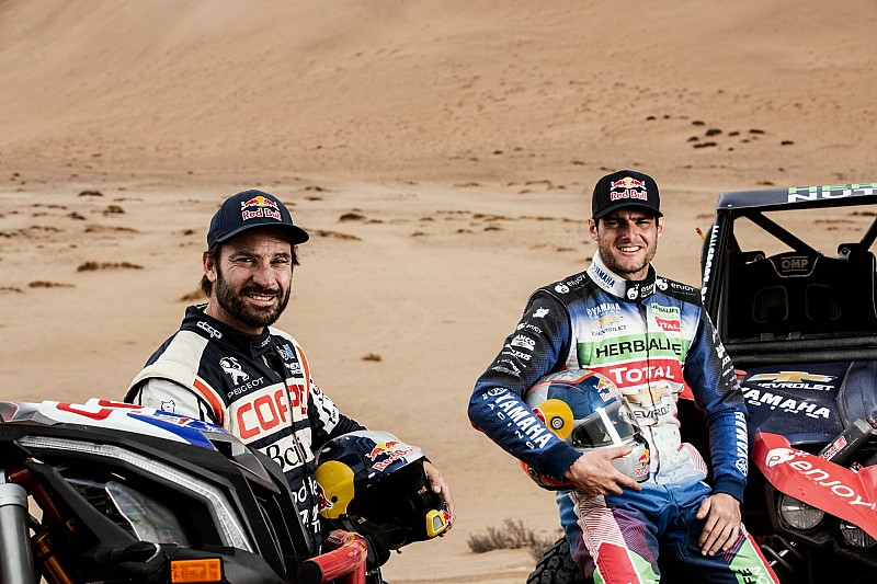 Casale-López, un duelo chileno en el Dakar en SxS