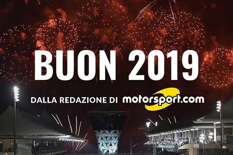 Tanti auguri di un felice 2019 e speriamo che la Ferrari trovi la via del mondiale