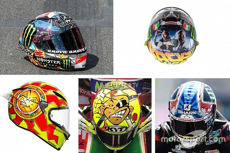 GALERI: Helm spesial MotoGP 2018