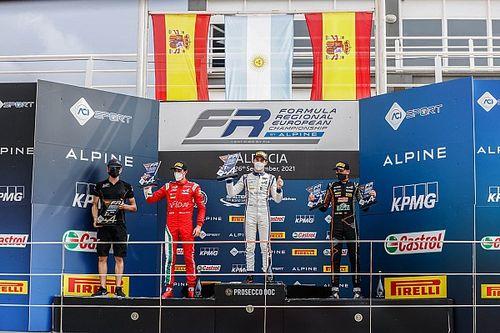 Vidales y Boya brillan en Cheste con la Formula Regional by Alpine