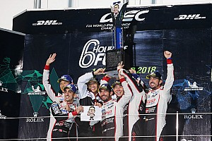 WEC Fuji: Toyota domineert weer, #7 klopt #8 van Alonso