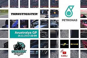Canlı: Petronas F1 2018 Türkiye Şampiyonası - Avustralya GP
