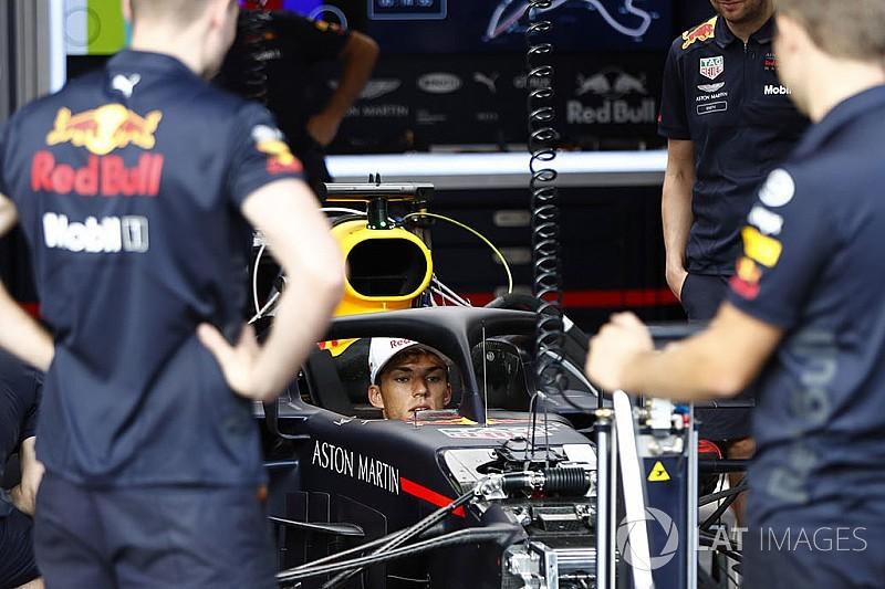 Гаслі приміряв болід Ріккардо на Гран Прі Бельгії